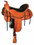 TUCKER DEAD WOOD TRAIL SADDLE (BK, BN, GN) 282
