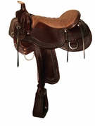 Tucker Horsehoe Bend Competitive Trail Saddle 278 Reg or Wide