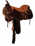 TUCKER SNAKE RIVER TRAIL SADDLE (BK, BN, GN) 253