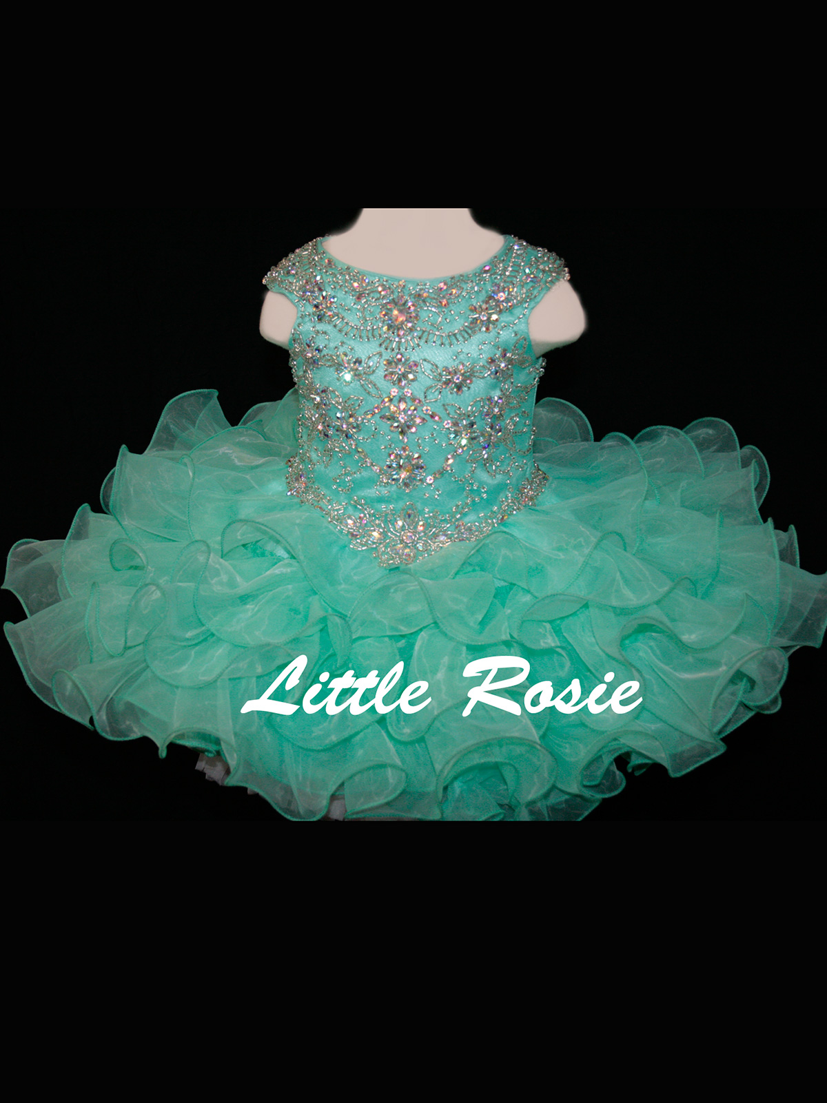 Little Rosie Baby Pageant Dresses  PageantDesigns.com