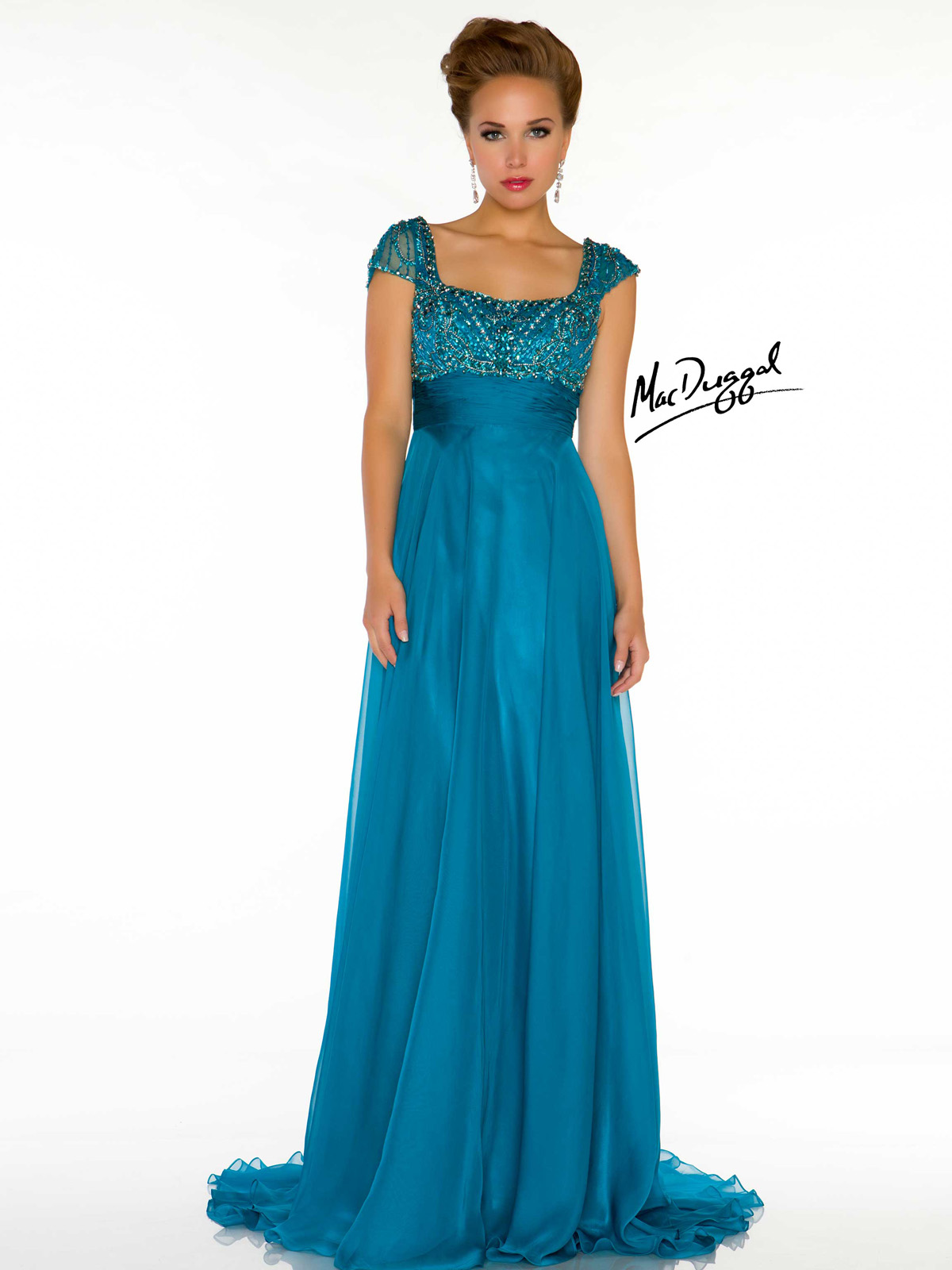 Empire Waist Cocktail Dresses With Sleeves - Prom Stores