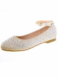 Embellished Your Party Shoes Child Pageant Flats Lanie 816
