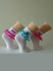 Girls Pageant Socks