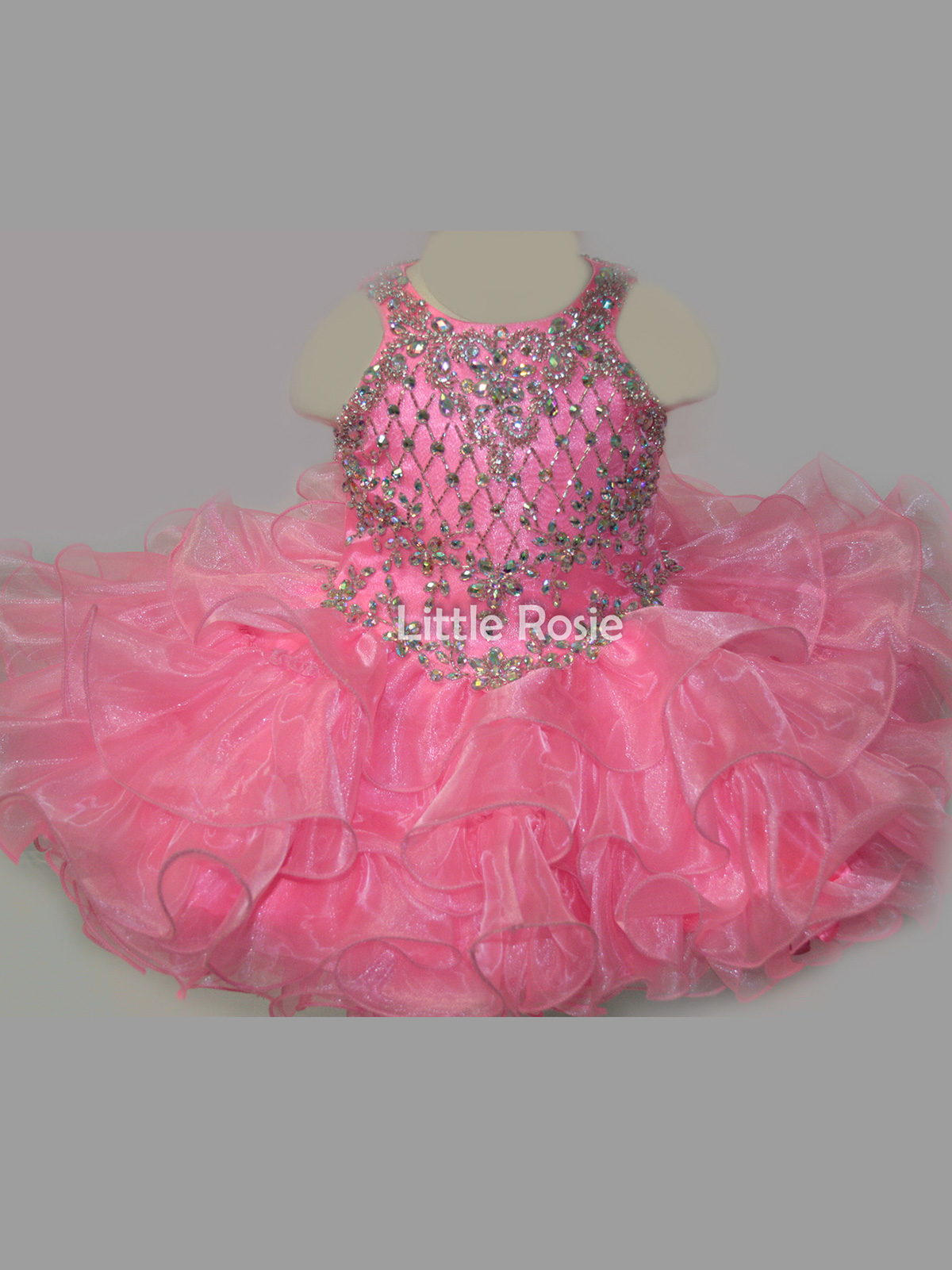Little Rosie Baby Pageant Dresses - PageantDesigns.com
