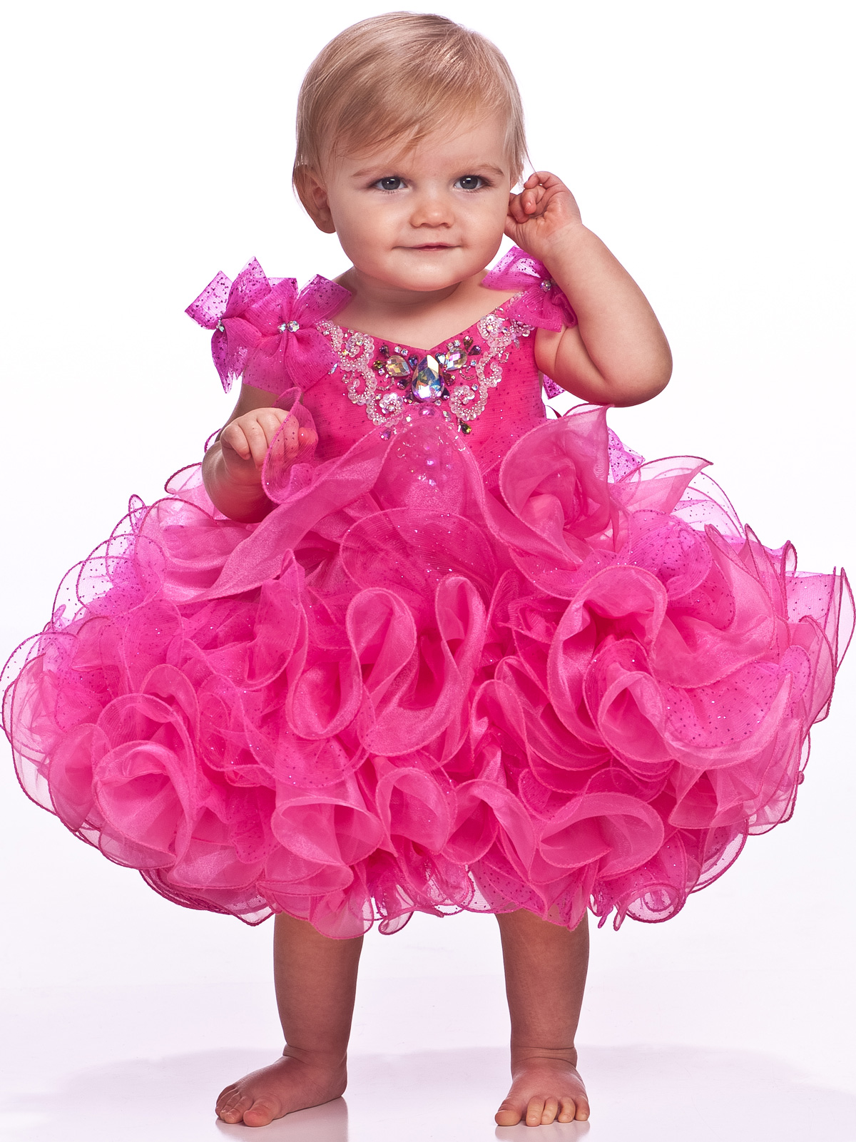 Cheap Infant Pageant Dresses - RP Dress