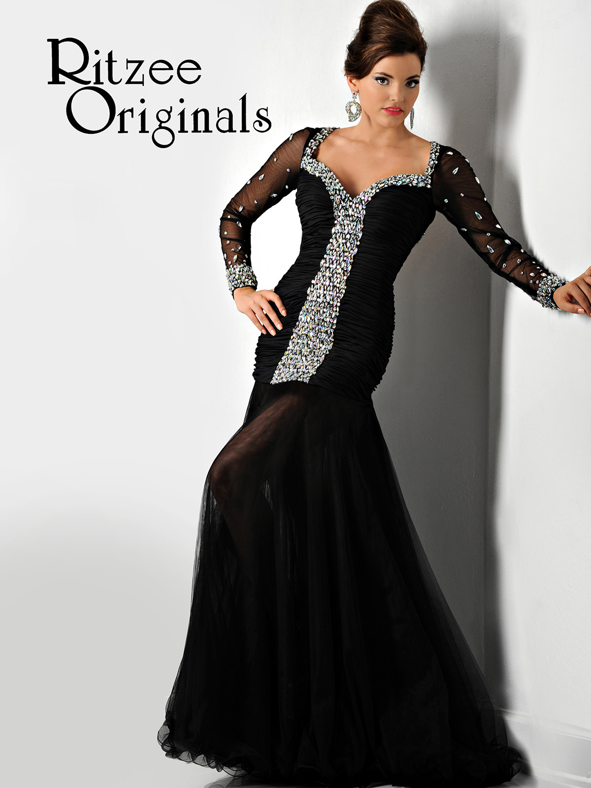 Long Sleeved Pageant Dresses | Dress images
