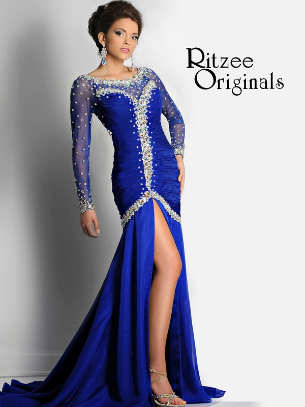 Ritzee Originals Evenings Pageant Dress 2441: PageantDesigns.com