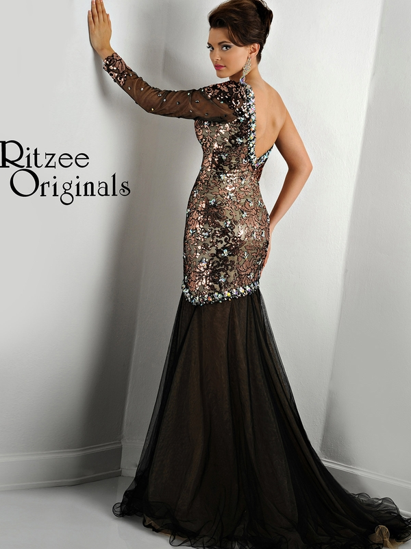 Ritzee Originals Evenings Pageant Dress 2436: PageantDesigns.com