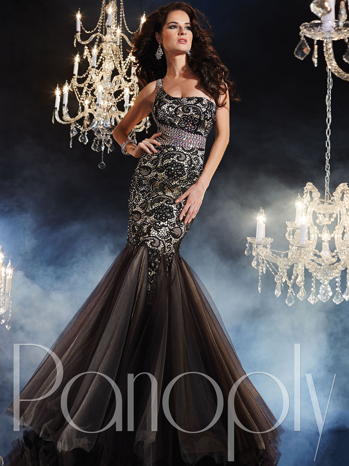 One Shoulder Mermaid Pageant Dress By Panoply 44236 ...