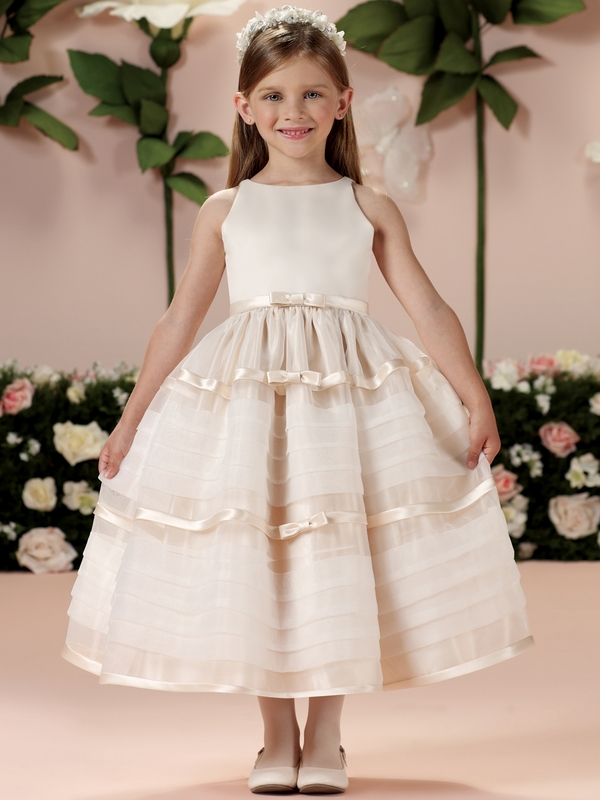 Halter Tiered Skirt Joan Calabrese Girls Formal Gown 114328 ...