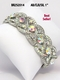 Stunning Swarovski Crystal Formal Pageant Bracelet BR252014