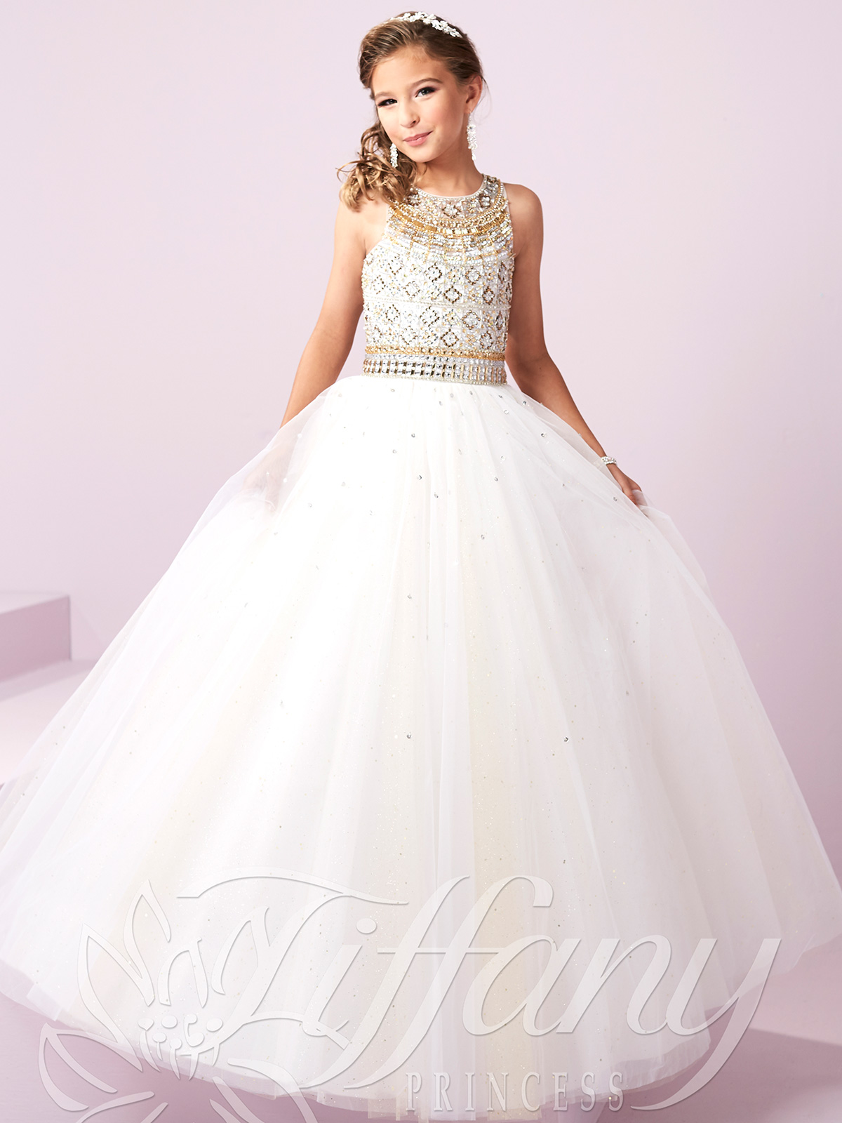 Tiffany Princess 13480 Beaded Bodice Pageant Gown ... - photo#12