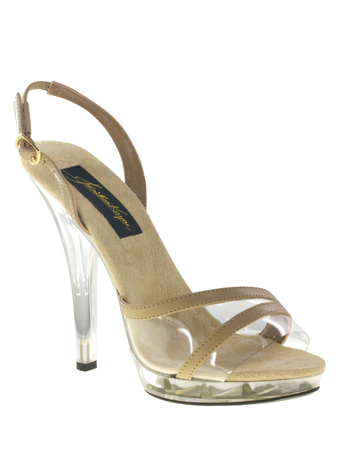 Vinyl Slingback Pageant Shoes