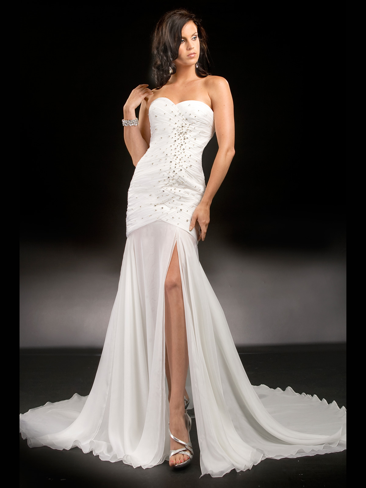 Flattering Pageant Dress Prima Donna 5575: PageantDesigns.com