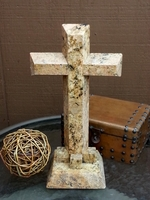 Standing Cross- Granite Wide Angled Cut