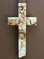 Succuri Granite Wall Cross With Beveled Edges