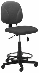 Mayline Inflatable Lumbar Drafting Chair [4005AG]