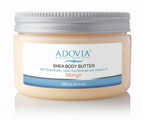 Adovia Dead Sea Body Butter - Mango