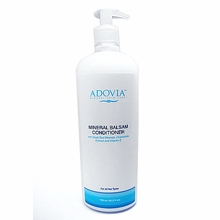 Adovia Dead Sea Mineral Deep Conditioner for Dry & Damaged Hair - HUGE Professional Size - 25 OZ