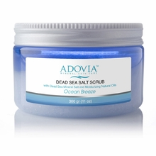 Adovia Dead Sea Salt Scrub - Ocean Breeze