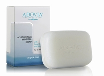 Adovia Dead Sea Salt Face & Body Soap - Deeply Moisturizing