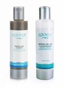 Adovia Dead Sea Mud Shampoo and Balsam Conditioner Duo