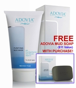 Facial Mud Mask with Dead Sea Mud by Adovia