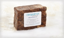 African Black Soap with Shea Butter and Coconut Oil - All Natural Facial Cleanser, Acne Treatment and Skin Cleanser - Shea Butter Soap Reduces Excess Oil and Helps Oily Skin - Keeps Skin Soft - 12oz