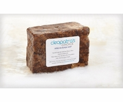 African Black Soap 12oz - Made with Shea Butter and Coconut Oil
