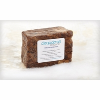African Black Soap with Shea Butter & Coconut Oil - Unscented - 12 Oz