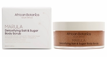 African Botanics MARULA Detoxifying Salt & Sugar Body Scrub 200ml/6.76oz