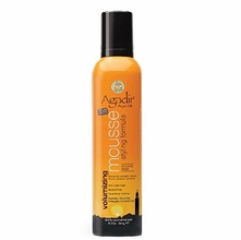 Agadir Styling Mousse for Volume with Argan Oil - 8.5 oz