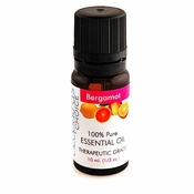 Bergamot Essential Oil 10ml - 100% Pure - Therapeutic Grade