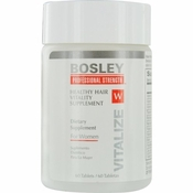 Bosley Healthy Hair Vitality Supplement for Women 60 ct