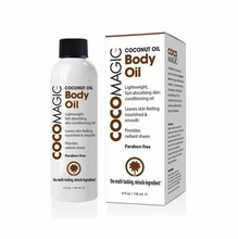 CocoMagic Coconut Oil Hydrating Body Oil 4 oz.