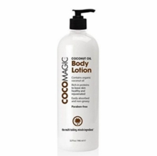 CocoMagic Coconut Oil Body Lotion - Huge 32 oz.
