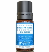 Essential Oil Blend - Breathe Well 10ml