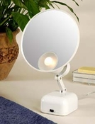 Floxite 15x Supervision Magnifying Mirror Light White