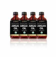 goPURE Argan Oil 16 Ounce (4 4oz bottles)