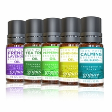 goPure Founders Picks - Top 5 Essential Oils Set - 5 1oz Bottles