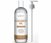 goPure Fractionated Coconut Oil - 100% Pure & Natural Coconut Oil - Premium Therapeutic Grade 16 Fl Oz