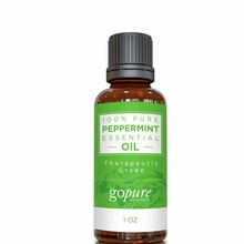 goPure Peppermint Essential Oil  1oz