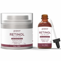 goPure Retinol Facial Duo Kit - Retinol Cream and Serum