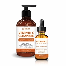 goPure Vitamin C Serum & Vitamin C Cleanser Duo Set