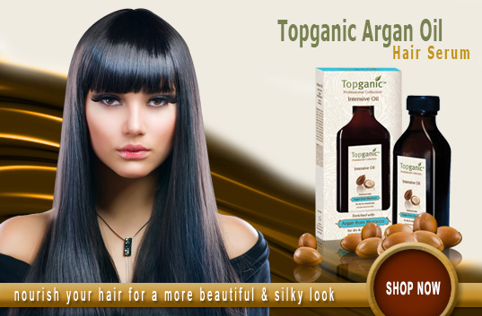 Topganic Argan Oil Hair Serum