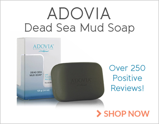 Adovia Dead Sea Mud Soap