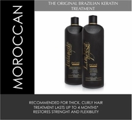 Inoar Brazilian Keratin Moroccan Blowout Treatment & Shampoo Kit 2 bottles x 1 liter