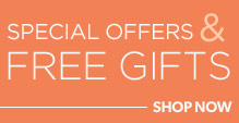Special Offers & Free Gifts on Makeup Products