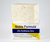 Noble Formula Bar Soap 2% Pyrithione Zinc with Mango Butter