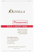 Olivella Face & Body Bar Soap 150gr - Pomegranate